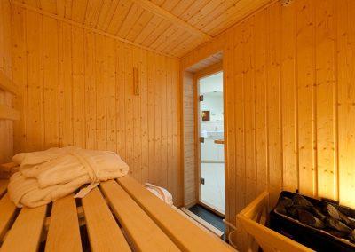 Entspannen, wann immer Sie mögen. Die eigene Sauna macht es möglich.