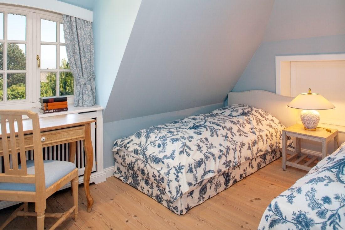 Luxus schlafzimmer mit meerblick  Das Luxus Ferienhaus Wiesenhof in Kampen auf Sylt
