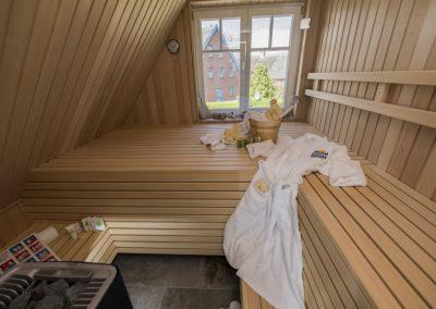 Tiefenentspannung in der eigenen Sauna.