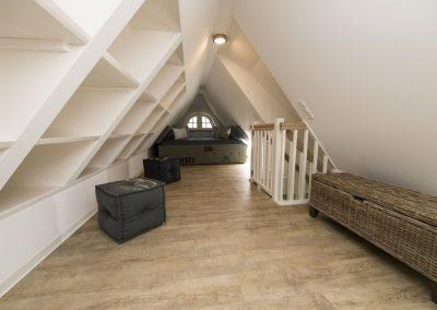 Viel Platz und Stauraum im Dachgeschoss