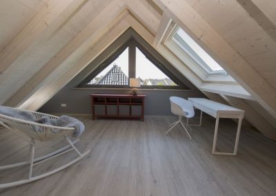 Einfach mal abschalten und Ruhe tanken in der Galerie im Dachgeschoss