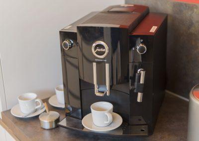 Kaffeegenuss pur - dank dem Jura- Kaffeeautomaten