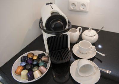 Kaffee, Espresso oder einen Milchkaffee?