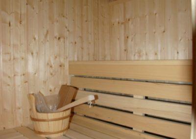 Entspannen Sie in der Sauna wann immer Sie mögen