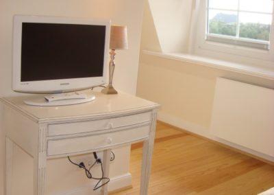 In allen Schlafzimmern ist ein eigener Flachbildschirm vorhanden!