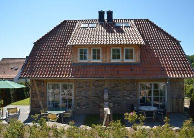 Die beiden Haushälften bieten Platz für 12 Personen.