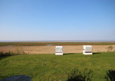 Genießen Sie den traumhaften Panoramameerblick bis nach Keitum, Kampen und nach Dänemark