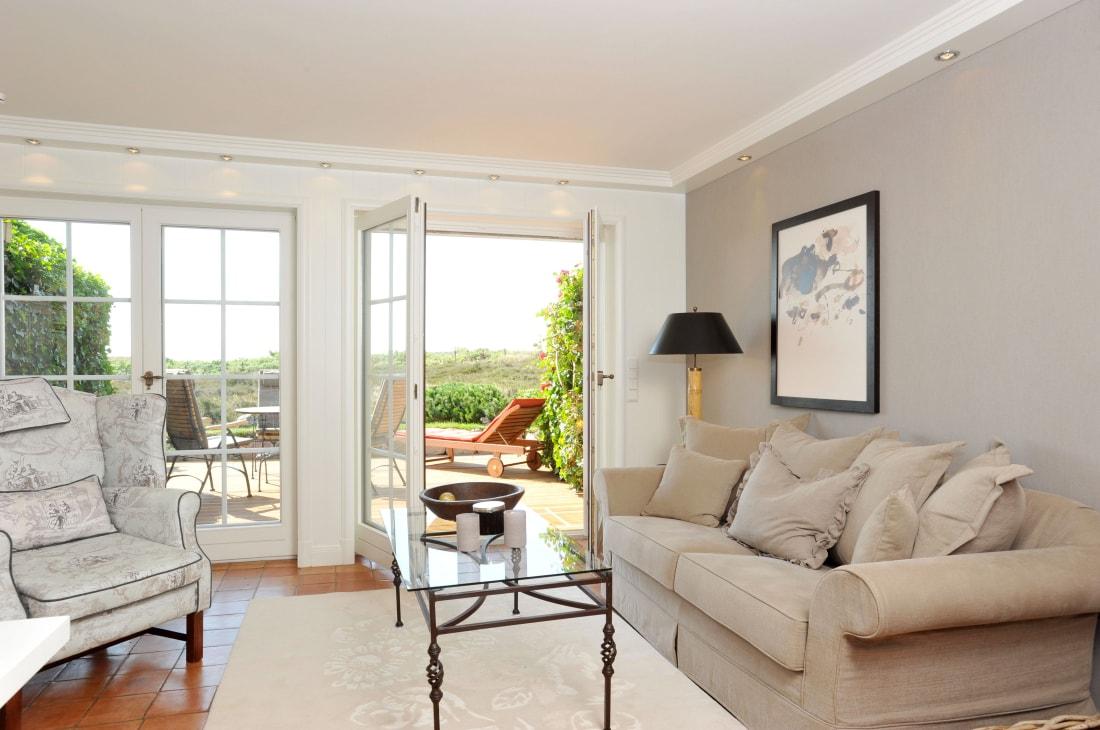 exklusive ferienwohnung munkmarsch niihoog sylt luxus. Black Bedroom Furniture Sets. Home Design Ideas