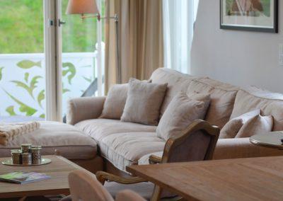 Dieses Sofa sieht nicht nur sehr gemütlich aus...