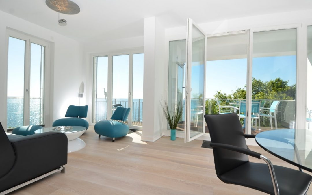 Exklusives Penthouse Ocean Blue in Sassnitz