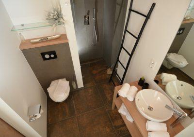 Ein separates Gäste- WC ist auch vorhanden.