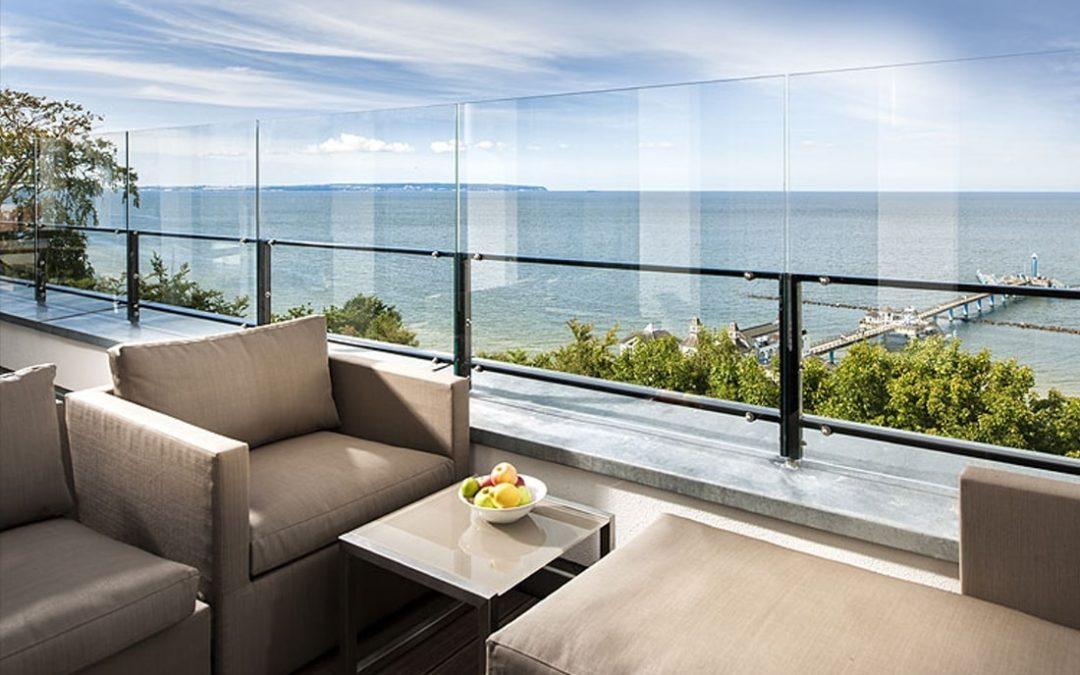 Luxus Penthouse Seaside in Sellin
