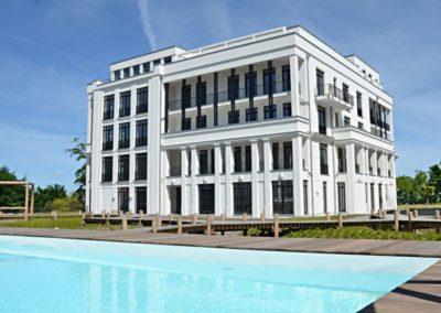 Die Villa mit der Ferienwohnung Sea Coast in Sellin.