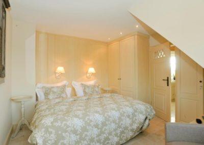 Garant für erholsamen Schlaf: das Doppelbett von Treca de Paris.
