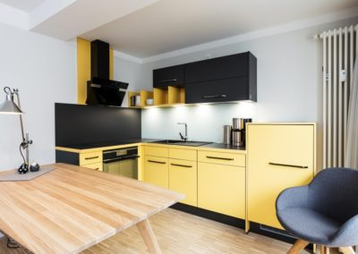 Diese Küche wird nicht nur Designerfans gefallen.