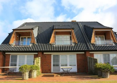 Das Ferienhaus mit der Ferienwohnung Klaar Kimming in Morsum