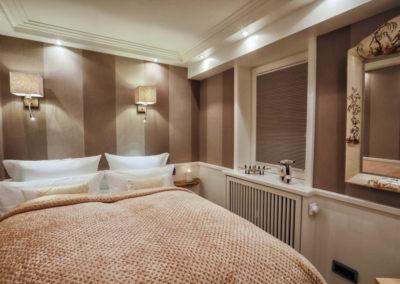 Auch das zweite Schlafzimmer verfügt über ein Doppelbett