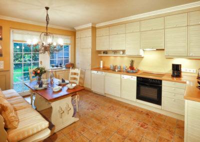 Ein beliebter Platz ist immer noch in der Küche