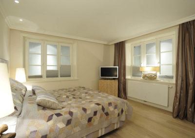 Jedes Schlafzimmer ist individuell konzipiert.
