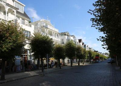 Die prachtvolle Wilhelmstraße mit der Villa Johanna