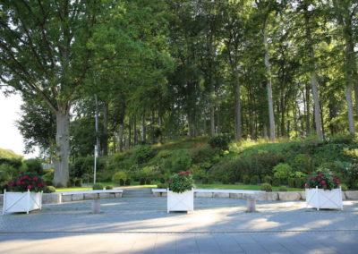 Bereits 1915 besuchte Albert Eiinstein den nur 100 Meter entfernten Park.