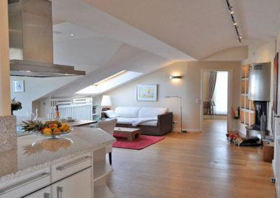 Viel Platz und Freiraum bietet das Penthouse Aegir in Binz.