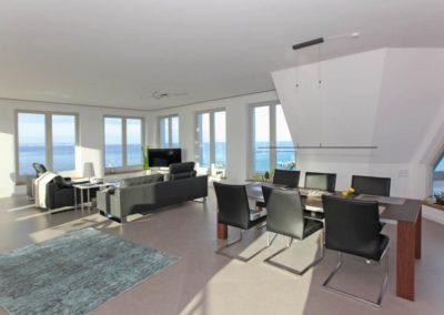 Das schönste an einem Penthouse ist der faszinierende Ausblick.