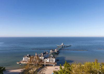 Für diesen Ausblick auf die historische Seebrücke wird man Sie beneiden.