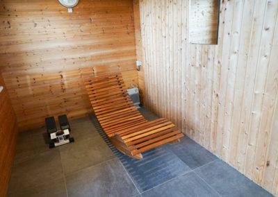 Wellness- und Fitnessoase im separaten Saunahaus.