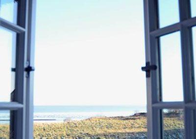 Schöner kann ein Ausblick aus einem Ferienhaus nicht sein.
