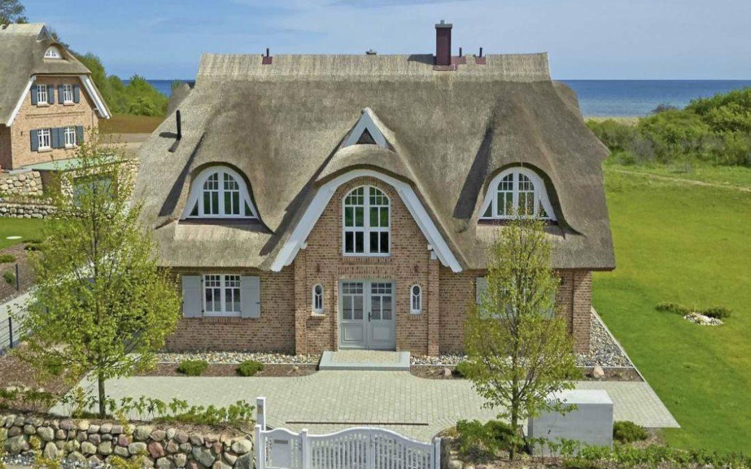 Das Ferienhaus Strandhaus Ruden in Lobbe