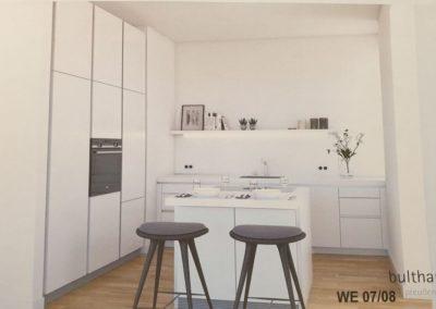 Visualisierung der Luxus- Bulthaup- Küche