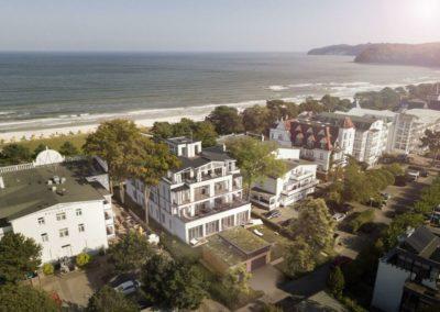 Die Villa befindet sich in direkter  Strandlage