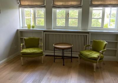 Der Raum zwischen Masterbedroom und begehbaren Kleiderschrank