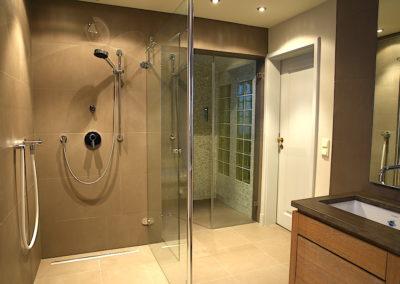 Das Duschbad im Wellnessbereich