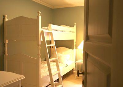 Das Kinderzimmer mit Etagenbett